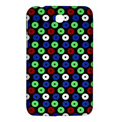 Eye Dots Green Blue Red Samsung Galaxy Tab 3 (7 ) P3200 Hardshell Case