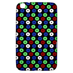 Eye Dots Green Blue Red Samsung Galaxy Tab 3 (8 ) T3100 Hardshell Case