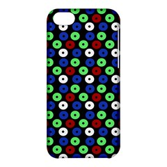 Eye Dots Green Blue Red Apple Iphone 5c Hardshell Case