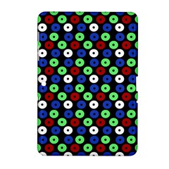 Eye Dots Green Blue Red Samsung Galaxy Tab 2 (10 1 ) P5100 Hardshell Case