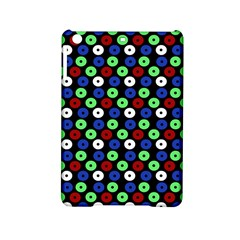 Eye Dots Green Blue Red Ipad Mini 2 Hardshell Cases