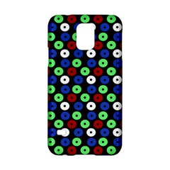 Eye Dots Green Blue Red Samsung Galaxy S5 Hardshell Case