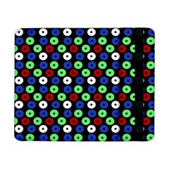 Eye Dots Green Blue Red Samsung Galaxy Tab Pro 8 4  Flip Case