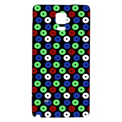 Eye Dots Green Blue Red Galaxy Note 4 Back Case