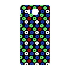 Eye Dots Green Blue Red Samsung Galaxy Alpha Hardshell Back Case