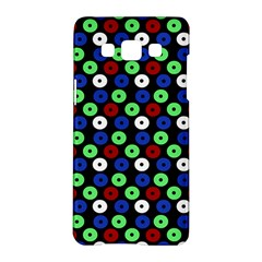Eye Dots Green Blue Red Samsung Galaxy A5 Hardshell Case