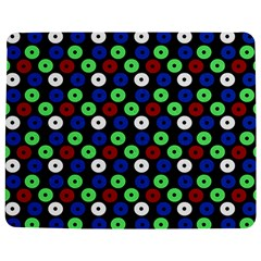 Eye Dots Green Blue Red Jigsaw Puzzle Photo Stand (rectangular)