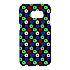 Eye Dots Green Blue Red Samsung Galaxy S7 Hardshell Case