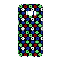 Eye Dots Green Blue Red Samsung Galaxy S8 Hardshell Case