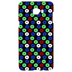 Eye Dots Green Blue Red Samsung C9 Pro Hardshell Case