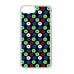 Eye Dots Green Blue Red Apple Iphone 8 Plus Seamless Case (white)