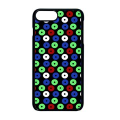 Eye Dots Green Blue Red Apple Iphone 8 Plus Seamless Case (black)