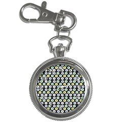 Eye Dots Grey Pastel Key Chain Watches