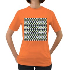 Eye Dots Grey Pastel Women s Dark T Shirt
