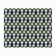 Eye Dots Grey Pastel Small Glasses Cloth (2 Side)