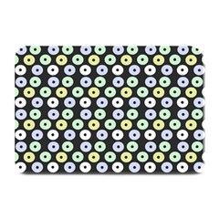 Eye Dots Grey Pastel Plate Mats