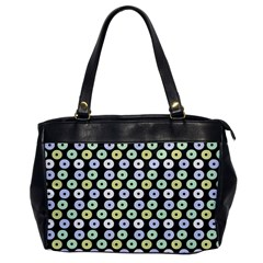 Eye Dots Grey Pastel Office Handbags