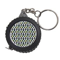 Eye Dots Grey Pastel Measuring Tape