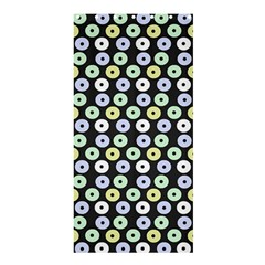 Eye Dots Grey Pastel Shower Curtain 36  X 72  (stall)