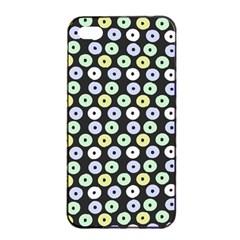 Eye Dots Grey Pastel Apple Iphone 4/4s Seamless Case (black)