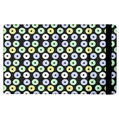 Eye Dots Grey Pastel Apple Ipad 3/4 Flip Case