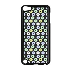 Eye Dots Grey Pastel Apple Ipod Touch 5 Case (black) by snowwhitegirl