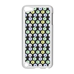 Eye Dots Grey Pastel Apple Ipod Touch 5 Case (white)