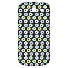 Eye Dots Grey Pastel Samsung Galaxy S3 S Iii Classic Hardshell Back Case