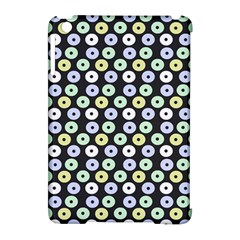 Eye Dots Grey Pastel Apple Ipad Mini Hardshell Case (compatible With Smart Cover)