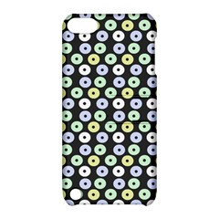 Eye Dots Grey Pastel Apple Ipod Touch 5 Hardshell Case With Stand