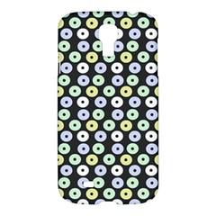Eye Dots Grey Pastel Samsung Galaxy S4 I9500/i9505 Hardshell Case