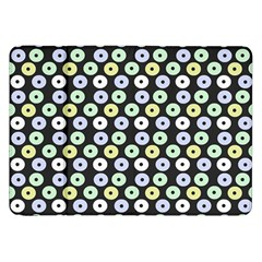 Eye Dots Grey Pastel Samsung Galaxy Tab 8 9  P7300 Flip Case