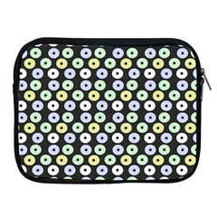 Eye Dots Grey Pastel Apple Ipad 2/3/4 Zipper Cases