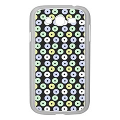 Eye Dots Grey Pastel Samsung Galaxy Grand Duos I9082 Case (white)