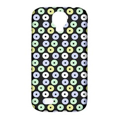 Eye Dots Grey Pastel Samsung Galaxy S4 Classic Hardshell Case (pc+silicone)