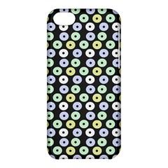 Eye Dots Grey Pastel Apple Iphone 5c Hardshell Case