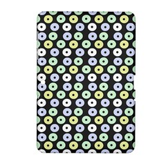 Eye Dots Grey Pastel Samsung Galaxy Tab 2 (10 1 ) P5100 Hardshell Case