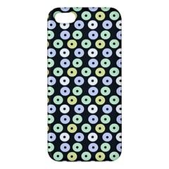 Eye Dots Grey Pastel Iphone 5s/ Se Premium Hardshell Case