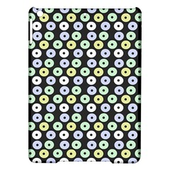 Eye Dots Grey Pastel Ipad Air Hardshell Cases