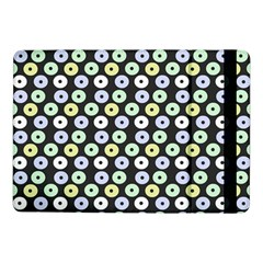 Eye Dots Grey Pastel Samsung Galaxy Tab Pro 10 1  Flip Case