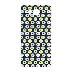 Eye Dots Grey Pastel Samsung Galaxy Alpha Hardshell Back Case