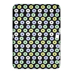 Eye Dots Grey Pastel Samsung Galaxy Tab 4 (10 1 ) Hardshell Case