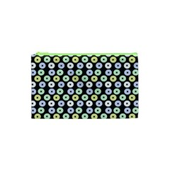 Eye Dots Grey Pastel Cosmetic Bag (xs)