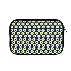 Eye Dots Grey Pastel Apple Macbook Pro 13  Zipper Case