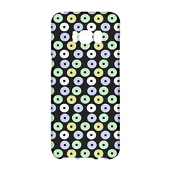 Eye Dots Grey Pastel Samsung Galaxy S8 Hardshell Case