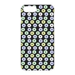 Eye Dots Grey Pastel Apple Iphone 8 Plus Hardshell Case