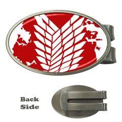 Attack On Titan Money Clips (oval)