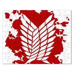 Attack On Titan Rectangular Jigsaw Puzzl