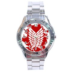 Attack On Titan Stainless Steel Analogue Watch