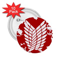 Attack On Titan 2 25  Buttons (10 Pack)